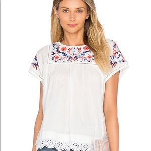 Rebecca Taylor embroidered top